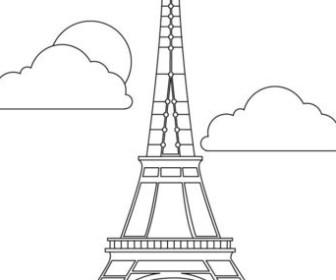 comment dessiner la tour eiffel
