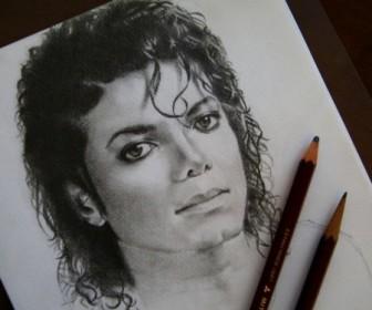 comment dessiner michael jackson