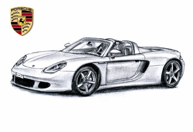 Comment dessiner porsche 911 for Plans de dessins de porche