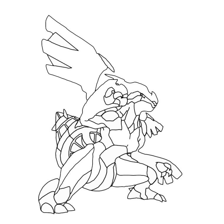 Comment dessiner zekrom - Coloriage pokemon deoxys ...