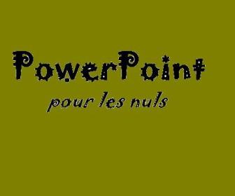 comment fonctionne powerpoint