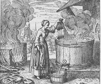 comment laver t on le linge au moyen age