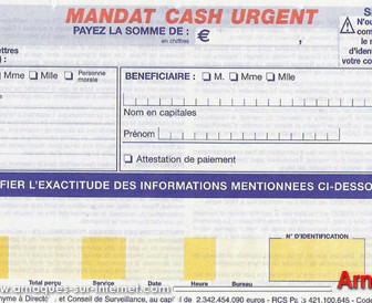 comment marche mandat cash