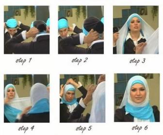 Comment mettre le foulard - Comment ranger les foulards ...