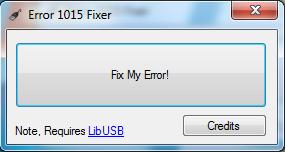 comment réparer erreur 1015 iphone 3g