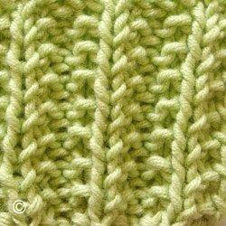 comment tricoter les fausses cotes anglaises