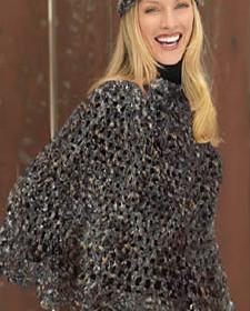 comment tricoter son poncho