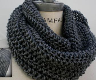 comment tricoter un foulard infinity