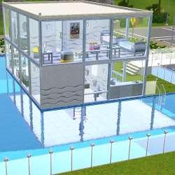 comment construire une maison sur l'eau sims 3