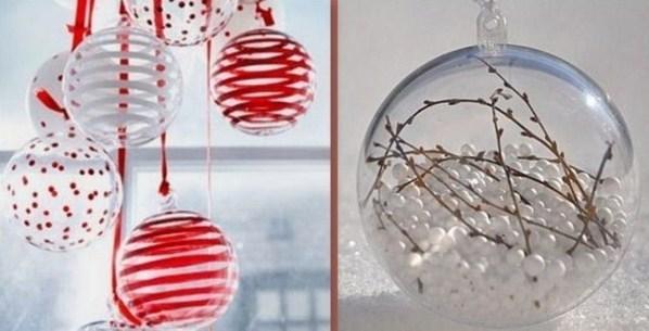 Comment d corer des boules transparentes pour noel - Decorer boules de noel polystyrene ...