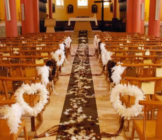 comment décorer une église