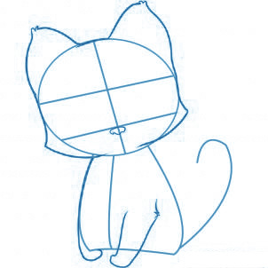 Comment dessiner 1 chat - Comment dessiner un chat facilement ...