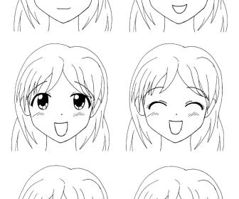 comment dessiner fille manga
