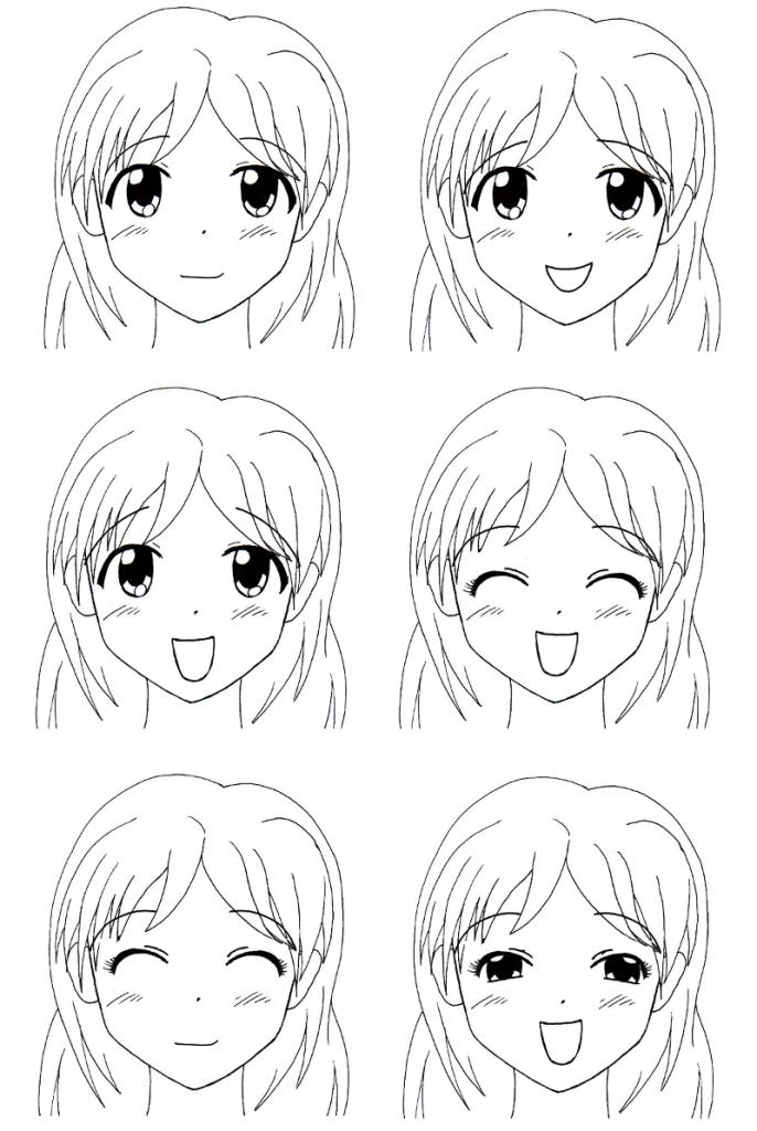 Comment dessiner fille manga - Fille manga a dessiner ...