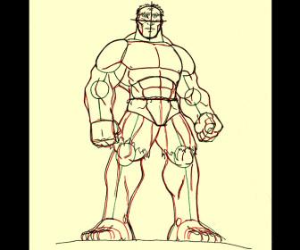 comment dessiner hulk