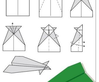 Comment faire un avion en papier - Comment faire un porte avion en papier ...