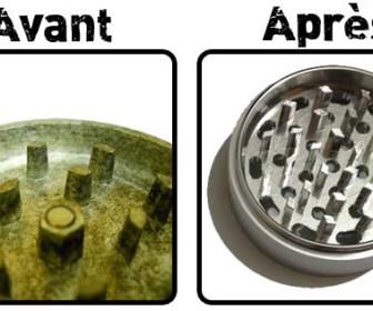 comment laver grinder