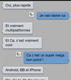 comment marche kik messenger