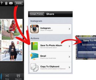 comment mettre 4 photos en 1 sur instagram