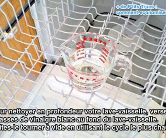comment nettoyer a fond un lave vaisselle