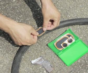 comment réparer crevaison vélo