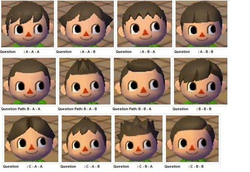 Comment se coiffer dans animal crossing wii - Coupe animal crossing new leaf ...