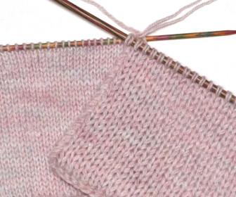 comment tricoter 2 laines ensemble