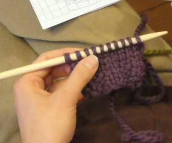 comment tricoter jacquard