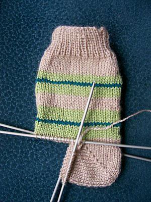 comment tricoter talon de bas