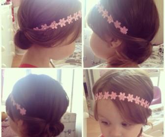 comment coiffer sa fille de 3 ans