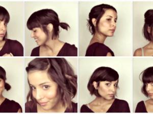 comment coiffer un carré court
