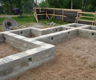 comment construire fondation maison