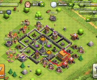 comment construire village clash of clan