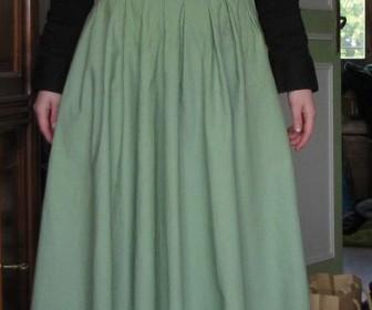 comment coudre jupe longue