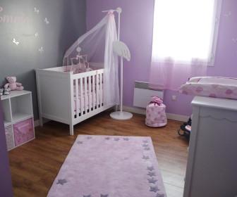 comment d corer chambre b b fille. Black Bedroom Furniture Sets. Home Design Ideas