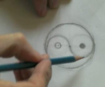 comment dessiner yin et yang