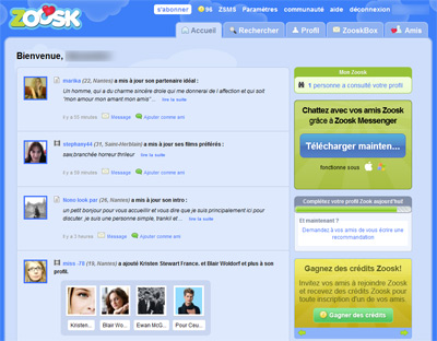 Zoosk rencontre forum