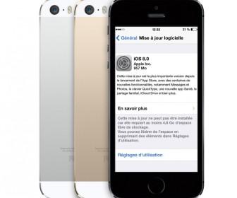comment mettre ios8 sur iphone 4