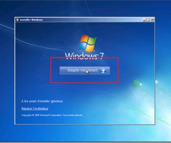comment mettre windows 7