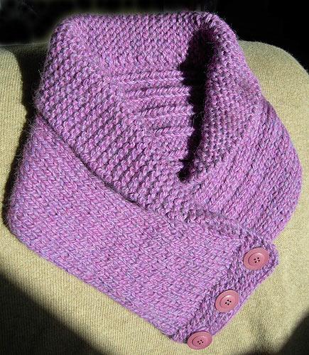 comment tricoter col chale
