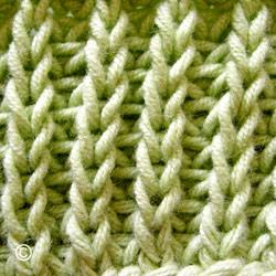 comment tricoter en côte perlée