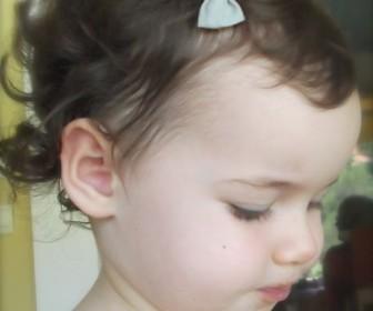 comment coiffer bébé fille