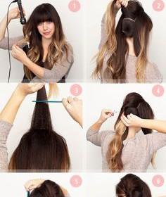 comment coiffer des cheveux longs youtube