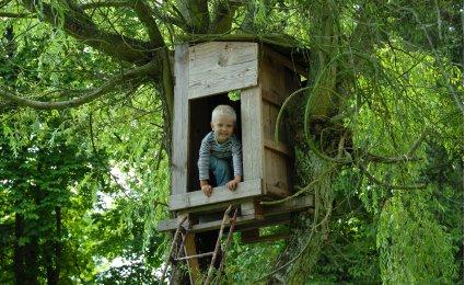 Construire une cabane en bois simple