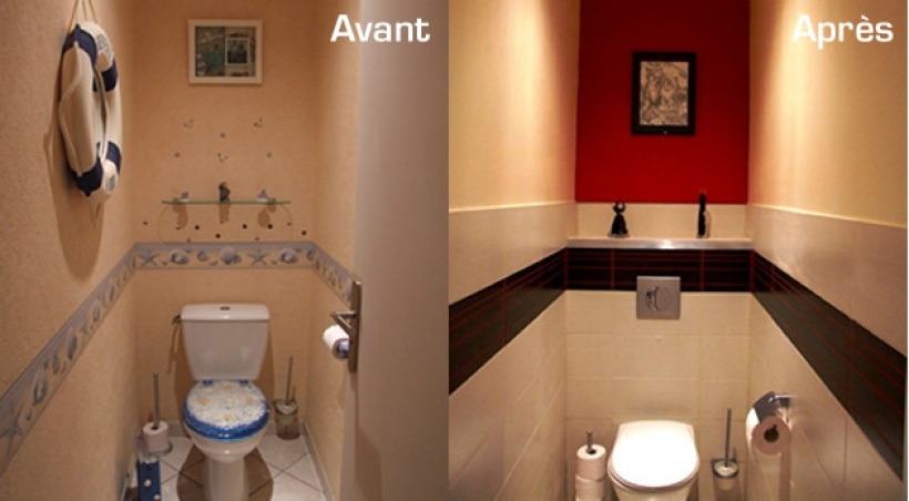 Comment d corer des toilettes - Decoration de toilettes zen ...
