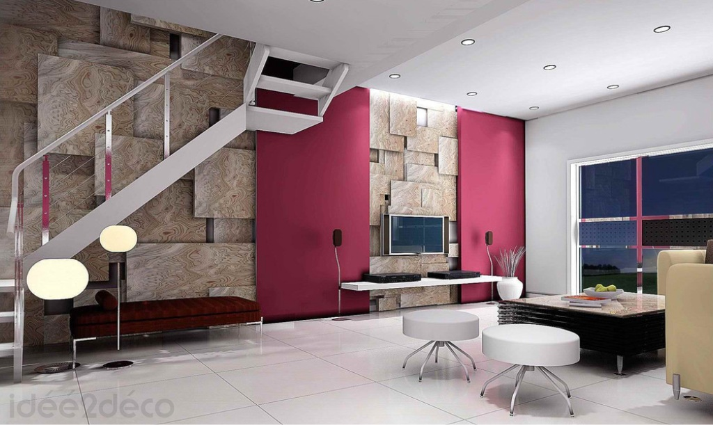 Comment d corer grand mur for Idee deco grand mur salon