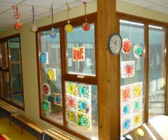 comment décorer une école maternelle