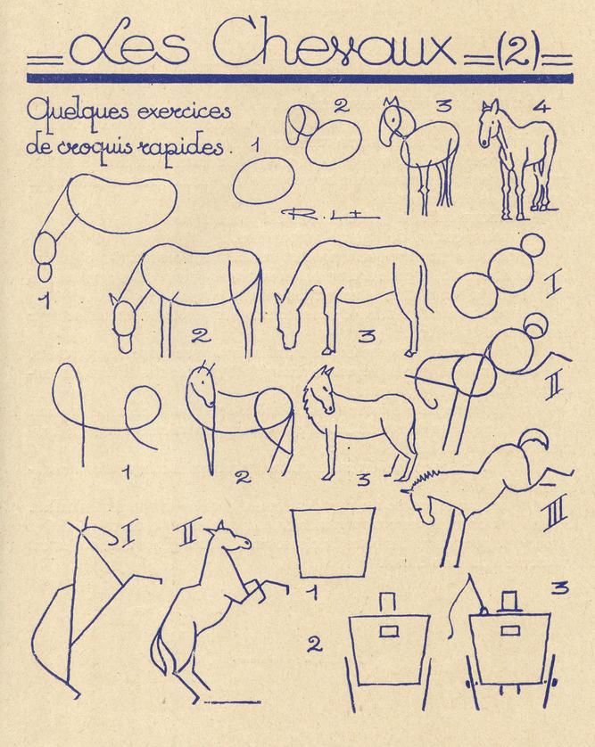 Comment dessiner des animaux - Dessiner des animaux ...