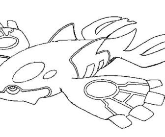 comment dessiner kyogre