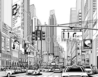 comment dessiner new york